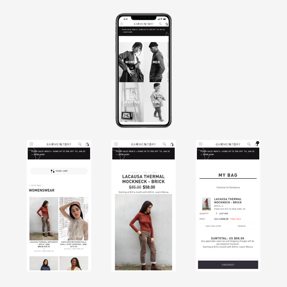 Garmentory fashion marketplace and Spree Commerce Success Story