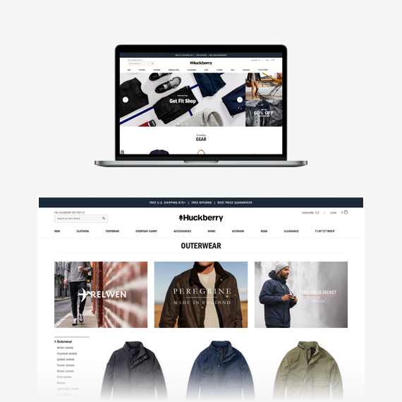 Huckberry Spree Commerce Success Story