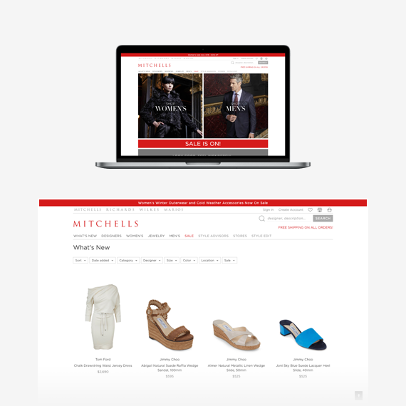 Mitchells Spree Commerce Success Story