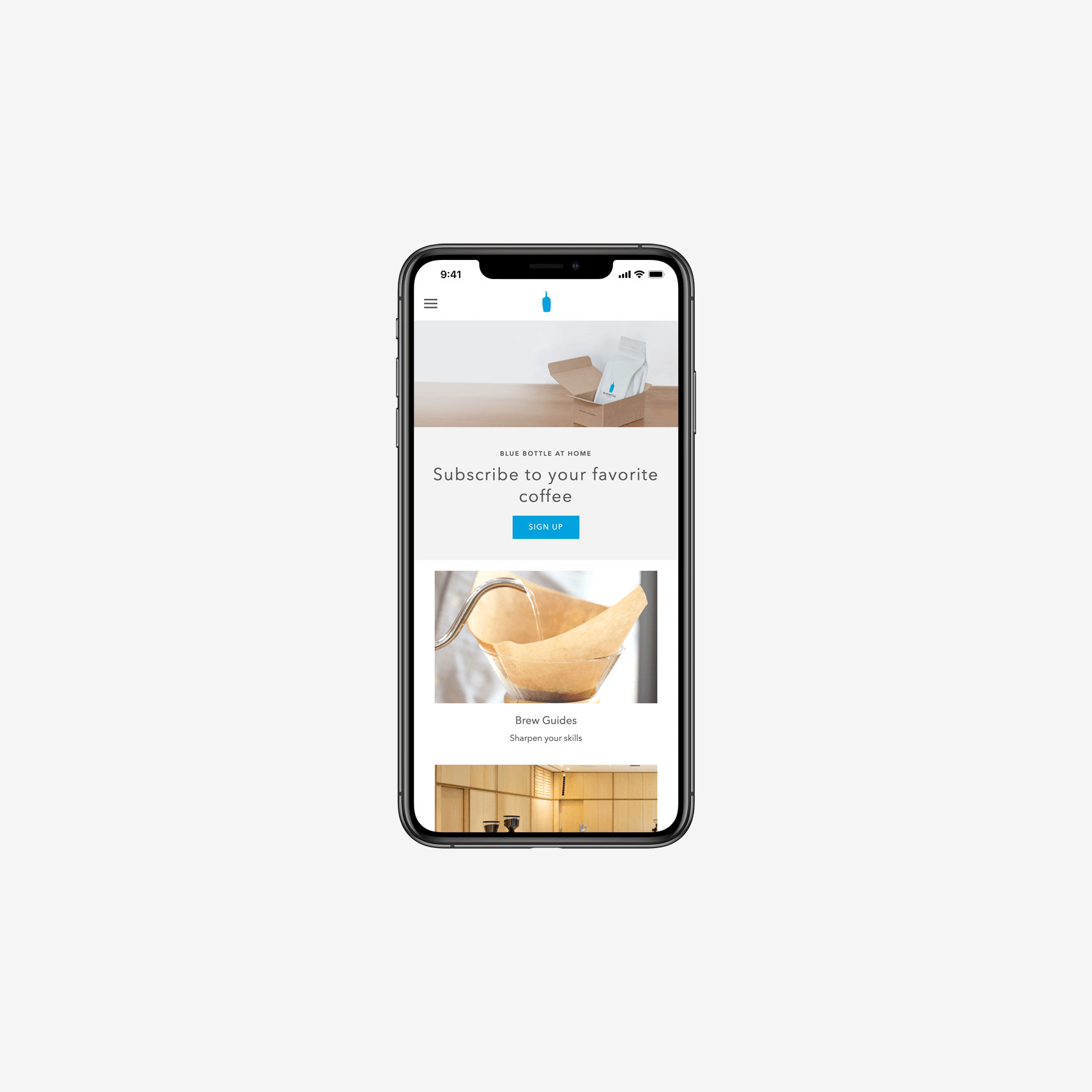 Blue Bottle Coffee Spree Commerce Success Story