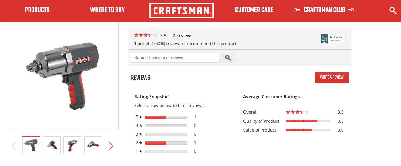 craftsman and spree commerce success story