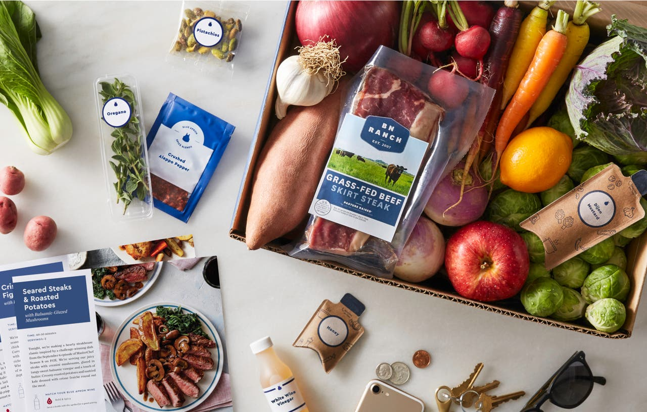 Blue Apron – the pioneer in meal-kit subscriptions uses Spree Commerce for its online platform