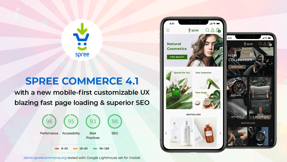 fully responsive mobile first mobile friendly Ecommerce