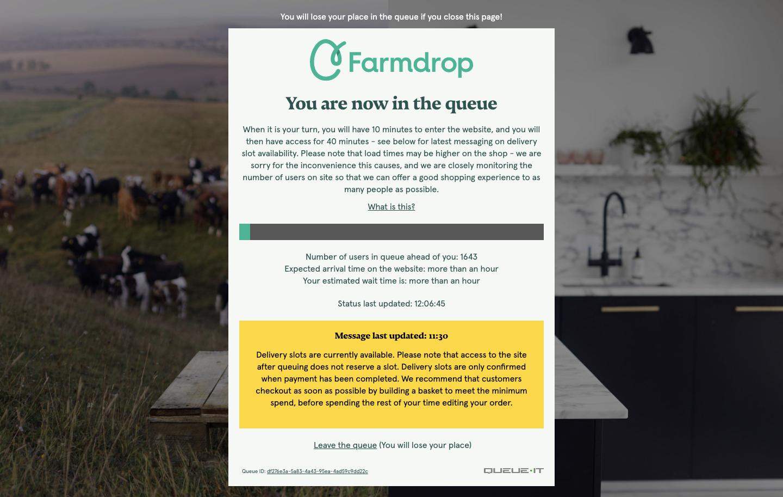 Farmdrop covid-19