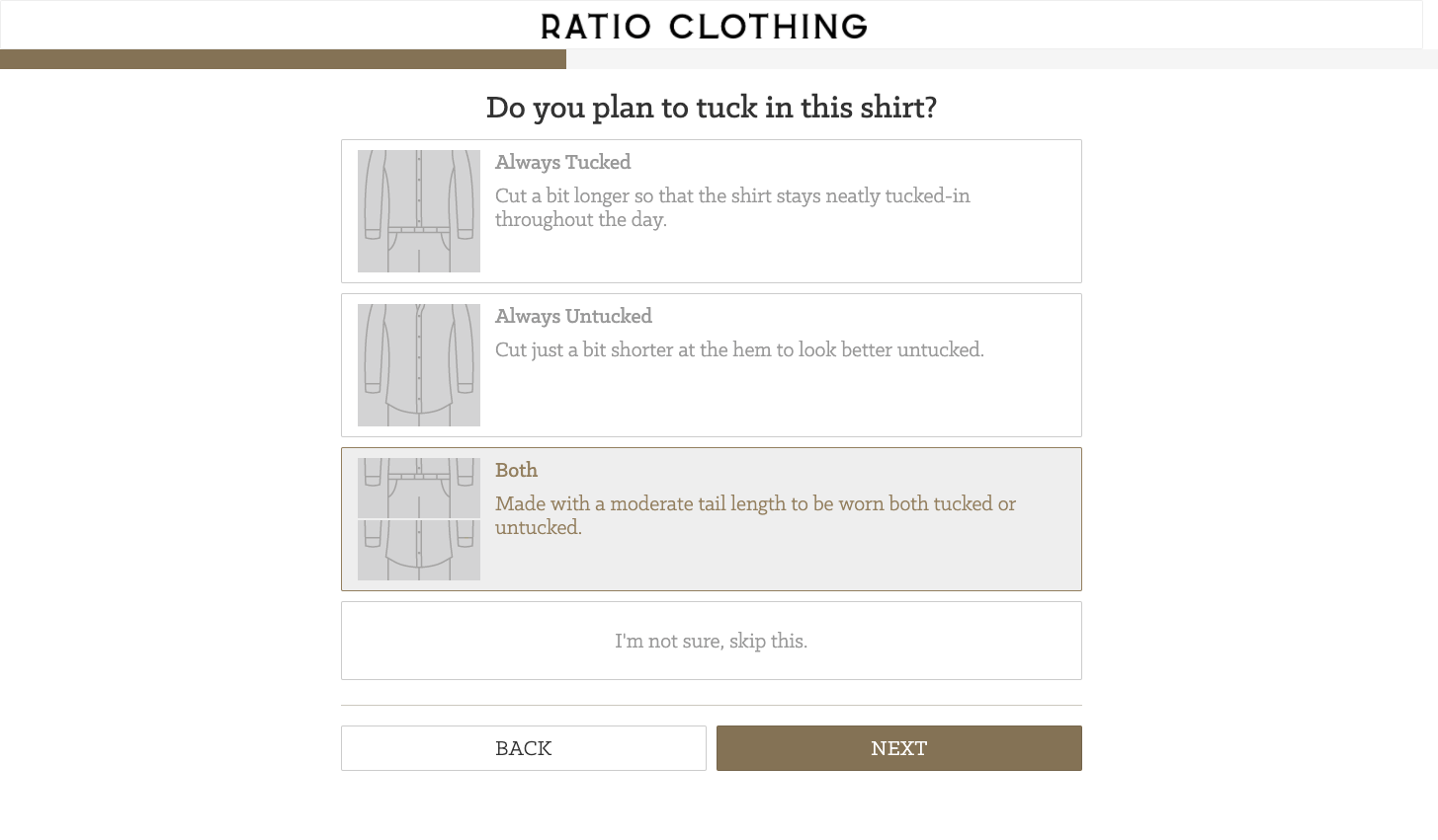 Ratio Clothing amazing features Spree Commerce
