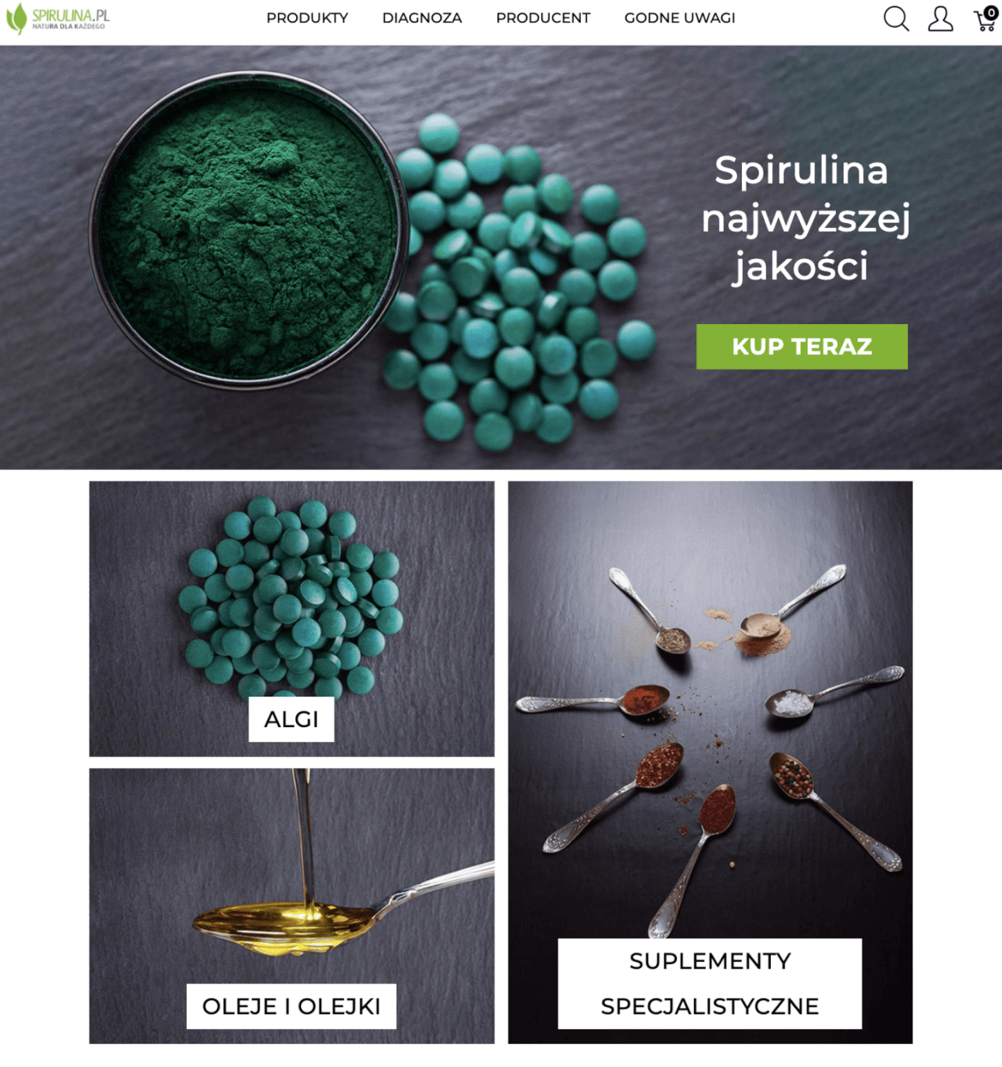 Spirulina and Spree Commerce success story
