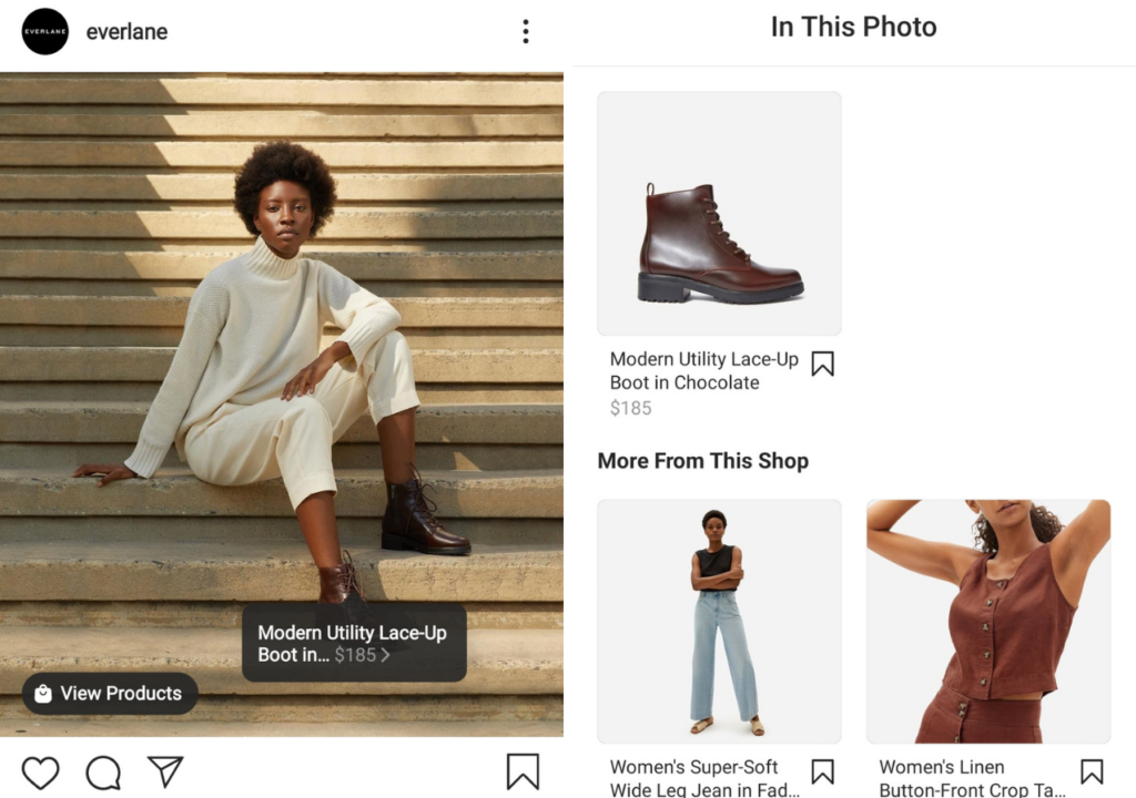 Spree Commerce store and Instagram