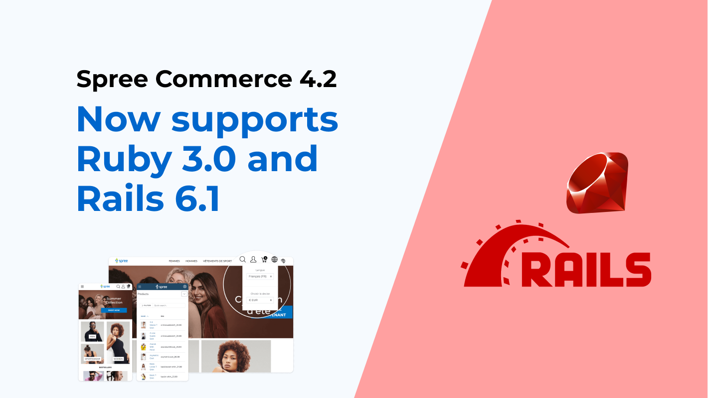 spree supports ruby 3.0 and rails 6.1