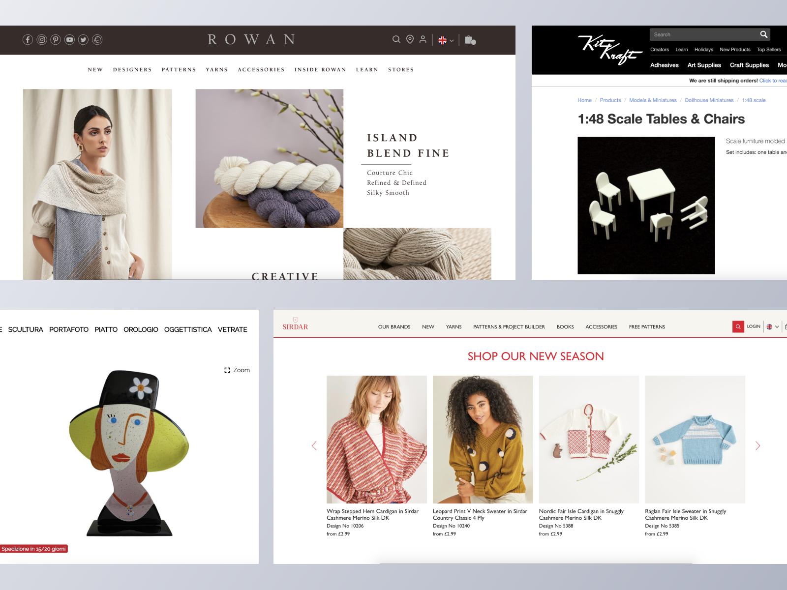 Art & DIY ecommerce websites using Spree Commerce