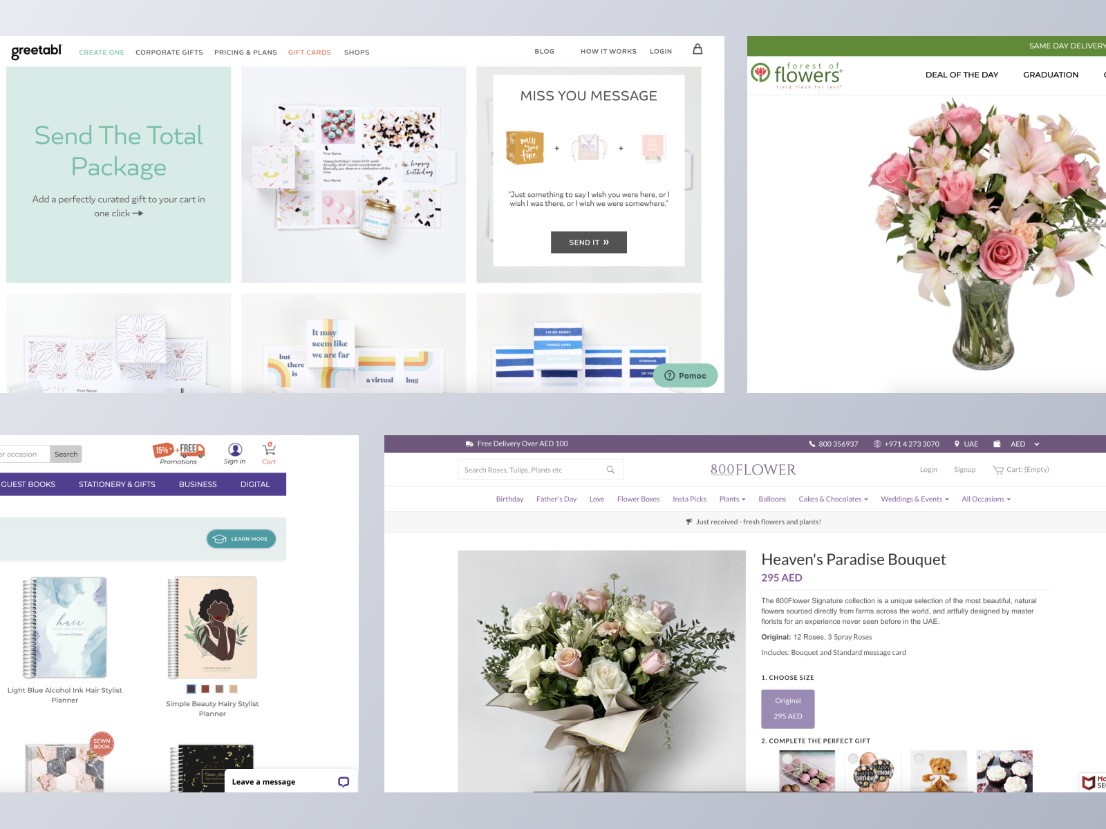 Gifts and Flowers ecommerce websites using Spree Commerce