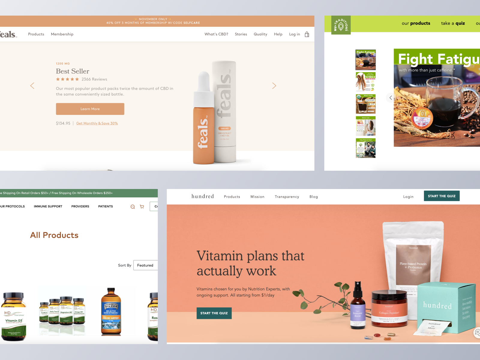 Health & Wellbeing ecommerce websites using Spree Commerce