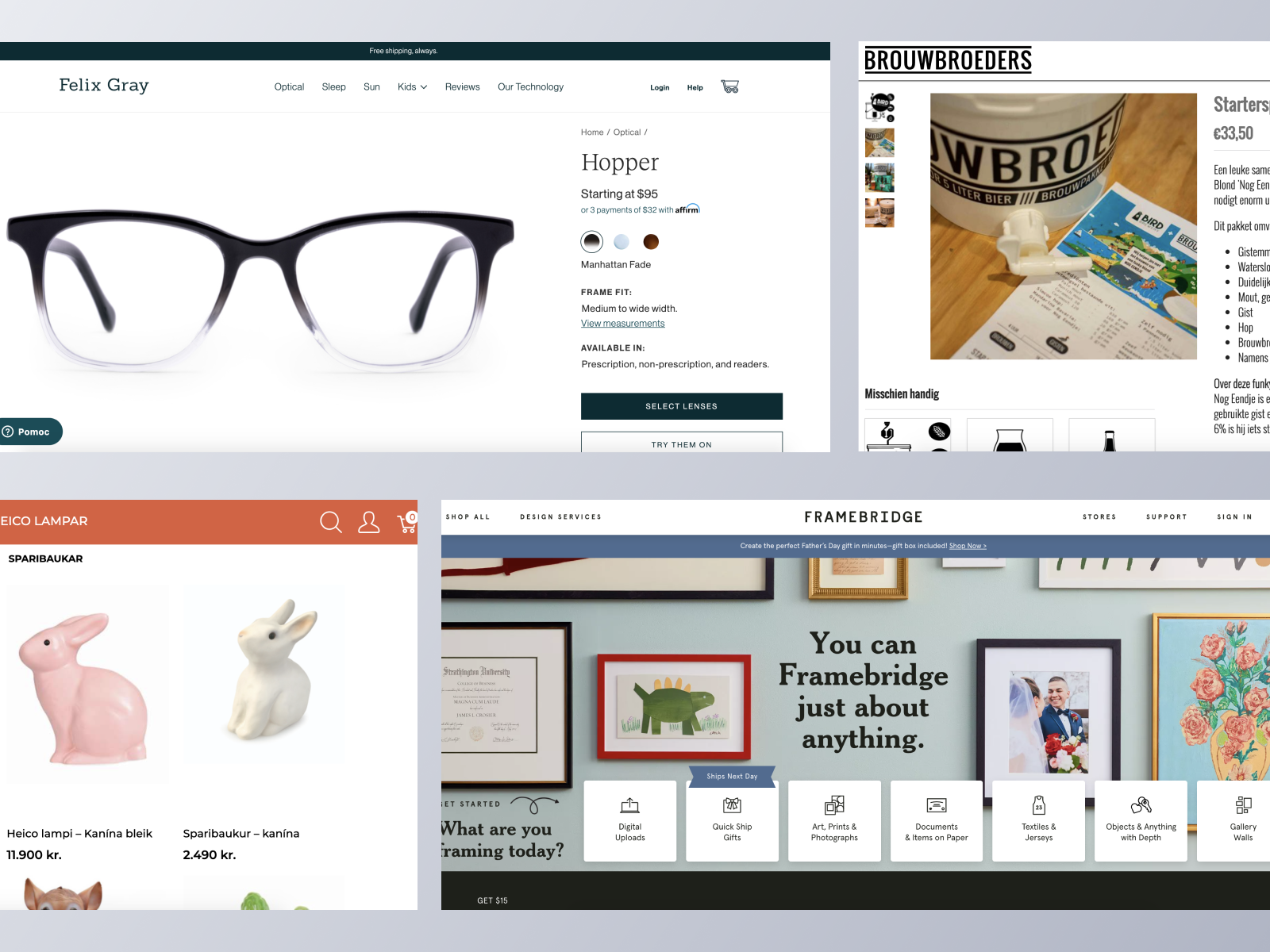 ecommerce websites using Spree Commerce