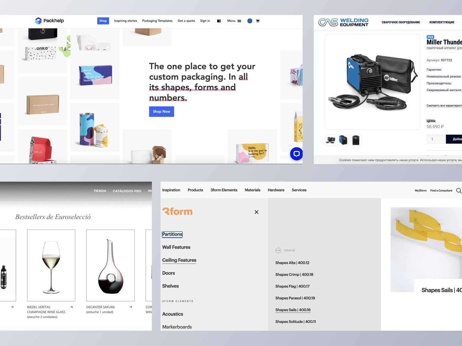 B2B ecommerce websites using Spree Commerce