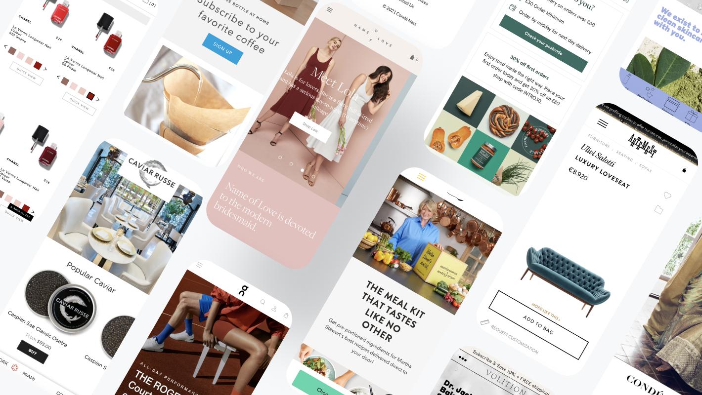 100+ amazing ecommerce websites using Spree Commerce