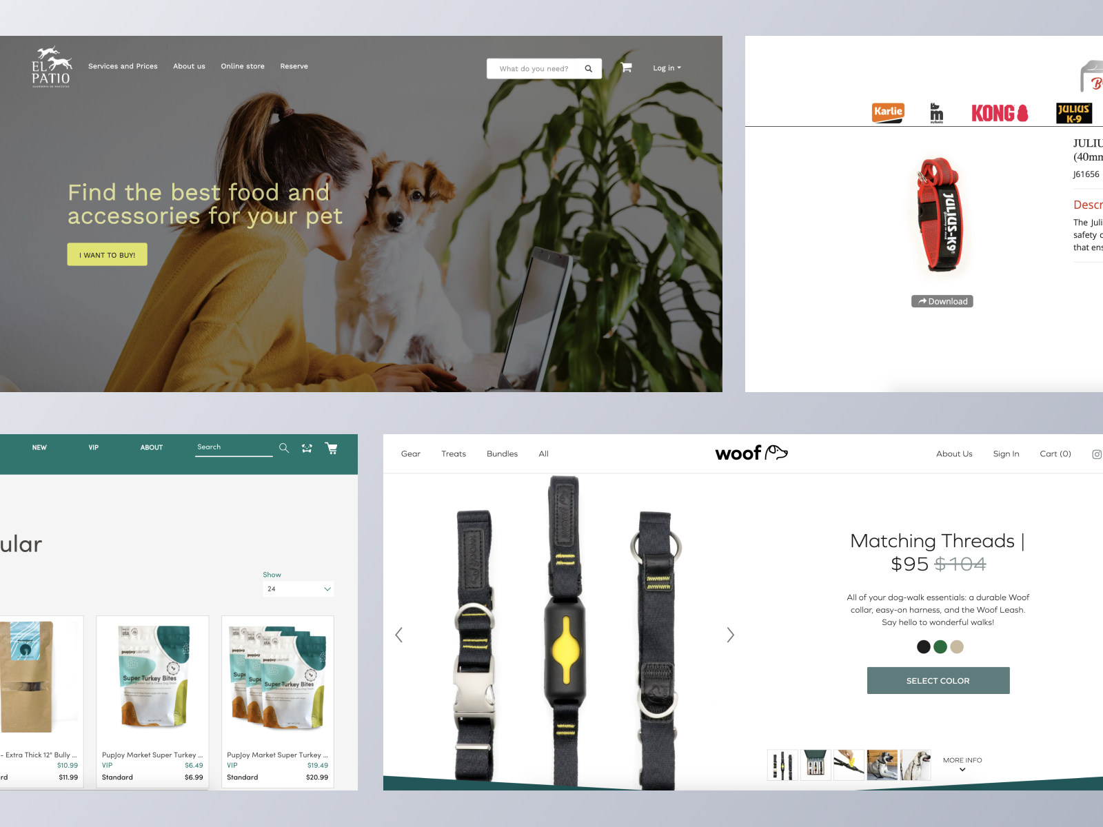 Pet Products ecommerce websites using Spree Commerce