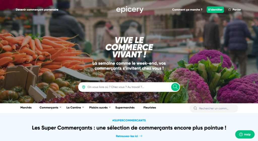 epicery is a marketplace using spree commerce