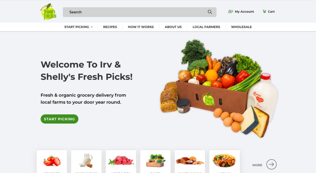 fresh picks uses spree