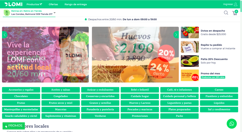 lomi is a marketplace using spree commerce