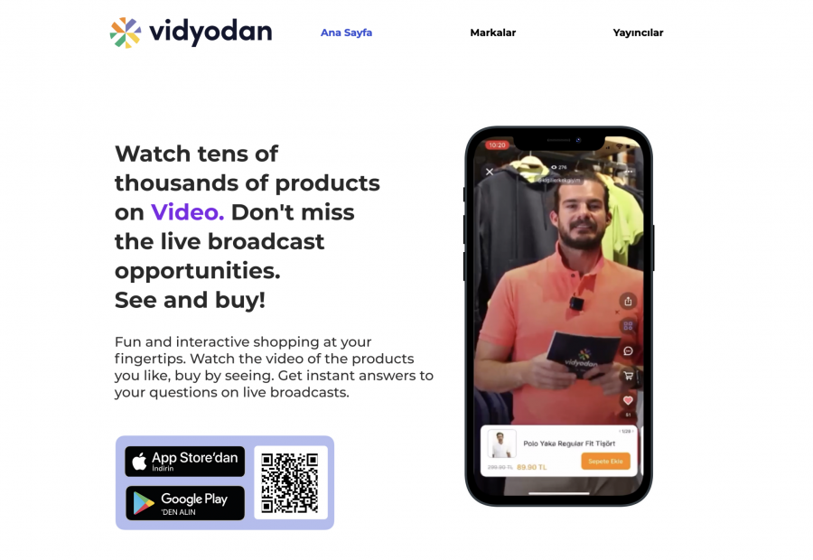 Vidyodan mobile app with Spree Commerce backend